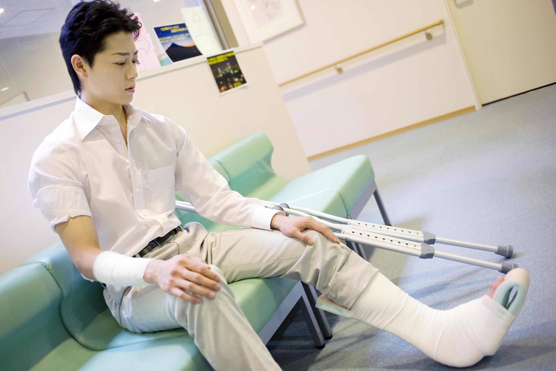 仕事中に発生した怪我の治療